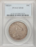Bust Half Dollars: , 1822/1 50C XF40 PCGS. PCGS Population (8/67). NGC Census: (1/38).Numismedia Wsl. Price for problem free NGC/PCGS coin in ...