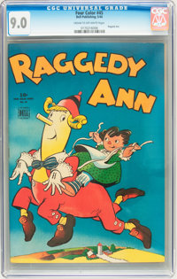 Four Color #45 Raggedy Ann (Dell, 1944) CGC VF/NM 9.0 Cream to off-white pages