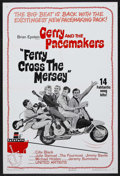 "Movie Posters:Rock and Roll, Ferry Cross the Mersey (United Artists, 1965). One Sheet (27"" X41""). Musical. Starring Gerry and the Pacemakers, Cilla Blac..."