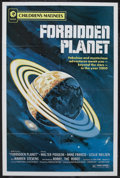 "Movie Posters:Science Fiction, Forbidden Planet (MGM, R-1972). One Sheet (27"" X 41""). ScienceFiction. Starring Walter Pidgeon, Anne Francis, Leslie Nielse..."