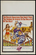 """Movie Posters:Adventure, Legions of the Nile (20th Century Fox, 1960). Insert (14"""" X 36"""").Drama. Starring Linda Cristal, Ettore Manni and Georges Ma..."""