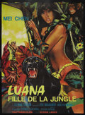 "Movie Posters:Adventure, Luana (Capital Productions, 1973). French Grande (45"" X 62.5"").Adventure. Starring Mei Chen, Glenn Saxon, Evi Marandi, Piet..."