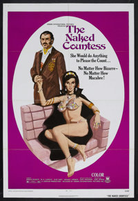 "The Naked Countess (Crown-International, 1971). One Sheet (27"" X 41""). Drama. Starring Ursula Blauth, W.G. Luk..."