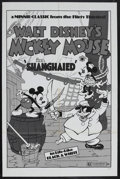 "Movie Posters:Animated, Shanghaied (Buena Vista, R-1974). One Sheet (27"" X 41""). Directedby Burt Gillett. Mickey voiced by Walt Disney. This sheet ..."