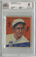 Baseball Cards:Singles (1930-1939), 1934 Goudey Mickey Cochrane #2 Beckett VG-EX 4. An example from the impressive 1934 Goudey issue is on display here as we o...