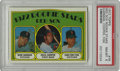 Baseball Cards:Singles (1970-Now), 1972 Topps Red Sox Rookies Garman/Cooper /Fisk #79 PSA NM-MT 8. The1972 Topps card we see here focuses on the Boston Red S...