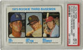 Baseball Cards:Singles (1970-Now), 1973 Topps Baseball Rookie 3rd Basemen #615 Ron Cey/Mike SchmidtPSA NM-MT 8. Tremendous edges and borders help this import...