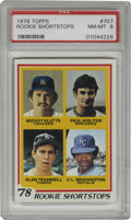 Baseball Cards:Singles (1970-Now), 1978 Topps Alan Trammell/Paul Molitor #707 PSA NM-MT 8. Offeredhere is the important rookie entry from the 1978 Topps set ...