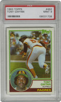 Baseball Cards:Singles (1970-Now), 1983 Topps Tony Gwynn #482 PSA Mint 9. A tough find in Mintcondition due to notorious centering issues that plague this ca...