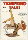 Magazines:Miscellaneous, Tempting Tales V2#5 (Consolidated Magazines, 1935) Condition:FN....
