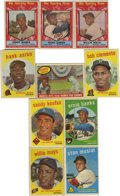 Baseball Cards:Lots, 1959 Topps Baseball Group Lot of 315. Group of 315 cards from the1961 Topps set includes cards from #2-571. Highlights inc...