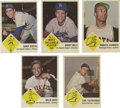 Baseball Cards:Sets, 1963 Fleer Baseball Near Complete Set (66/67). A lawsuit brought by Topps halted Fleer's 1963 set production at one series o...