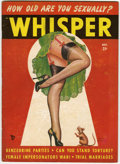 Magazines:Vintage, Whisper V3#4 (Whisper, Inc., 1949) Condition: GD/VG....