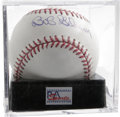Autographs:Baseballs, Bob Gibson Single Signed Baseball, PSA Mint+ 9.5. Near flawlesssingle from the most dominant pitcher of his era. Ball has...
