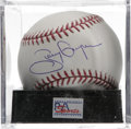 Autographs:Baseballs, Tony Gwynn Single Signed Baseball, PSA Gem Mint 10. The masterfulPadres slugger and one of the newest HOF inductees offers...