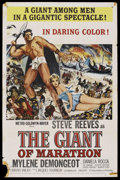 "Movie Posters:Adventure, The Giant of Marathon (MGM, 1960). One Sheet (27"" X 41"").Adventure. ..."