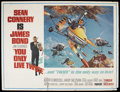 "Movie Posters:James Bond, You Only Live Twice (United Artists, 1967). Subway (45"" X 59"").James Bond. ..."