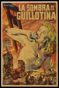 "Movie Posters:Adventure, Reign of Terror (Eagle Lion, 1950). Argentinean Poster (29"" X 43"").Adventure. ..."