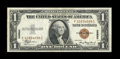 Error Notes:Skewed Reverse Printing, Fr. 2300 $1 1935A Hawaii Silver Certificate. Extremely Fine.. ...