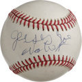 Autographs:Baseballs, Jersey Joe Walcott Single Signed Baseball. Former heavyweight champJersey Joe Walcott made history when he became the olde...