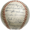 Autographs:Baseballs, 1945 St. Louis Cardinals Team Signed Baseball. From the era when the St. Louis Cardinals were in the midst of their 1940s d...
