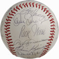 Autographs:Baseballs, 1979 Cleveland Indians Team Signed Baseball. The 1979 ClevelandIndians finished at 81-80, good enough for their second bes...