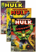 Magazines:Superhero, The Rampaging Hulk Group (Marvel, 1977-81) Condition: AverageVF.... (Total: 20 Comic Books)