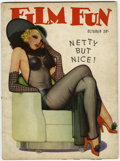 Magazines:Vintage, Film Fun October '37 (Film Fun Publishing Co., 1937) Condition: VG....