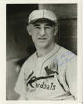 Autographs:Photos, Frank Frisch Signed Photograph. The Fordham Flash Frankie Frisch,after several successful years with the New York Giants, ...