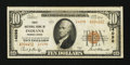 National Bank Notes:Pennsylvania, Indiana, PA - $10 1929 Ty. 2 First NB Ch. # 14098. ...