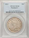 Bust Half Dollars: , 1823 50C Patched 3 XF40 PCGS. PCGS Population (6/45). NGC Census:(0/12). Numismedia Wsl. Price for problem free NGC/PCGS ...