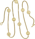 Estate Jewelry:Necklaces, Gold Necklace, Slane & Slane. ...