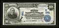 National Bank Notes:Virginia, Alexandria, VA - $10 1902 Date Back Fr. 616 The First NB Ch. #(S)651. ...