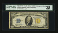 Small Size:World War II Emergency Notes, Fr. 2309* $10 1934A North Africa Silver Certificate Star. PMG Very Fine 25.. ...