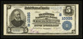 National Bank Notes:Virginia, Fredericksburg, VA - $5 1902 Plain Back Fr. 603 The Planters NB Ch.# (S)10325. ...