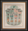 Fractional Currency:Shield, Fr. 1383a Fractional Currency Shield, With Green Background.. ...