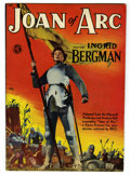 Golden Age (1938-1955):Non-Fiction, Joan of Arc #nn Double Cover (Magazine Enterprises, 1949)Condition: FN/VF....