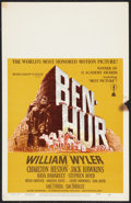 "Movie Posters:Historical Drama, Ben-Hur (MGM, R-1969). Window Card (14"" X 22""). Historical Drama....."