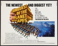 """Movie Posters:Science Fiction, Conquest of the Planet of the Apes (20th Century Fox, 1972). Half Sheet (22"""" X 28""""). Science Fiction.. ..."""