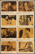 "Movie Posters:Drama, Giant (Warner Brothers, R-1963). Lobby Card Set of 8 (11"" X 14"").Drama.. ... (Total: 8 Items)"