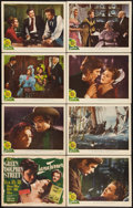 "Movie Posters:Adventure, Green Dolphin Street (MGM, 1947). Lobby Card Set of 8 (11"" X 14"").Adventure.. ... (Total: 8 Items)"