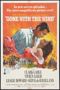 """Movie Posters:Academy Award Winners, Gone with the Wind (MGM, R-1968). One Sheet (27"""" X 41""""). AcademyAward Winners.. ..."""