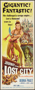 "Movie Posters:Adventure, Journey to the Lost City Lot (American International, 1960).Inserts (2) (14"" X 36""). Adventure.. ... (Total: 2 Items)"