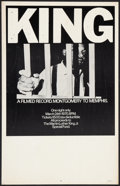 "Movie Posters:Documentary, King: A Filmed Record...Montgomery to Memphis (Maron Films, 1970). Window Card (14"" X 22""). Documentary.. ..."