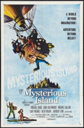 "Movie Posters:Science Fiction, Mysterious Island (Columbia, 1961). One Sheet (27"" X 41""). ScienceFiction.. ..."