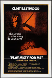 """Play Misty For Me (Universal, 1971). One Sheet (27"""" X 41""""). Thriller"""