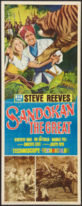 "Movie Posters:Adventure, Sandokan the Great Lot (MGM, 1965). Inserts (3) (14"" X 36"").Adventure.. ... (Total: 3 Items)"