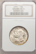 1921 50C Alabama MS64 NGC. NGC Census: (771/434). PCGS Population (803/495). Mintage: 59,038. Numismedia Wsl. Price for...