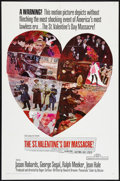 "Movie Posters:Crime, The St. Valentine's Day Massacre (20th Century Fox, 1967). OneSheet (27"" X 41""). Crime.. ..."