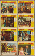 "Movie Posters:Western, Star in the Dust (Universal, 1956). Lobby Card Set of 8 (11"" X 14""). Western.. ... (Total: 8 Items)"
